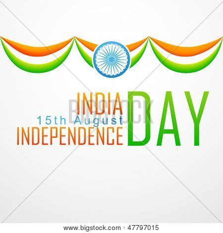 stylish vector indian flag design illustration