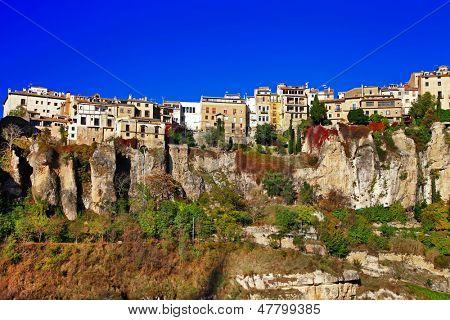 Cuenca. town on clifs. Spain