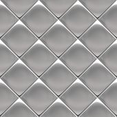 Metal background or texture of checked aluminium plate