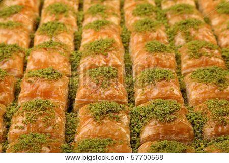 Full Baklava Plate