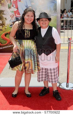 Raini Rodriguez and Rico Rodriguez at the Los Angeles Premiere of 'Shorts'. Grauman's Chinese Theatre, Hollywood, CA. 08-15-09