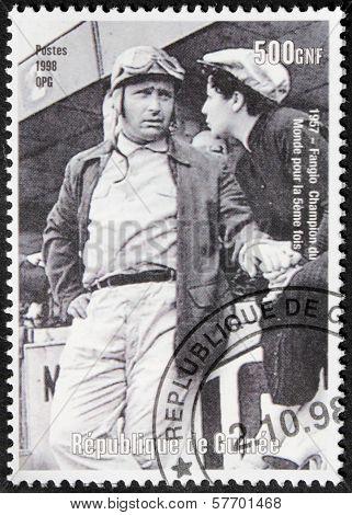 Fangio Stamp
