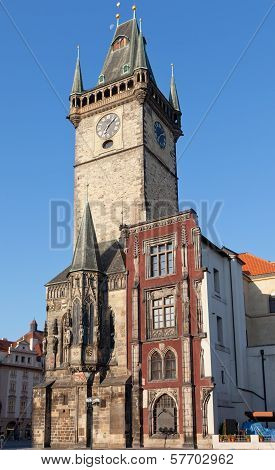Stare Mesto (Old Town) view Prague Czech Republic