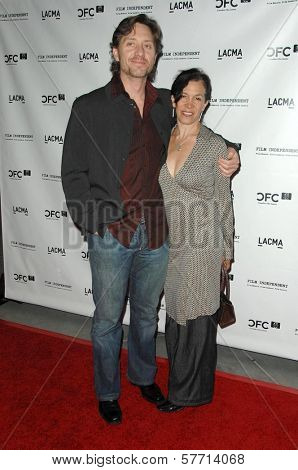 Sean Doyle and Allegra Fulton  at a Gala in Honor of Norman Jewison. LACMA, Los Angeles, CA. 04-17-09