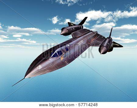 Reconnaissance Aircraft SR-71