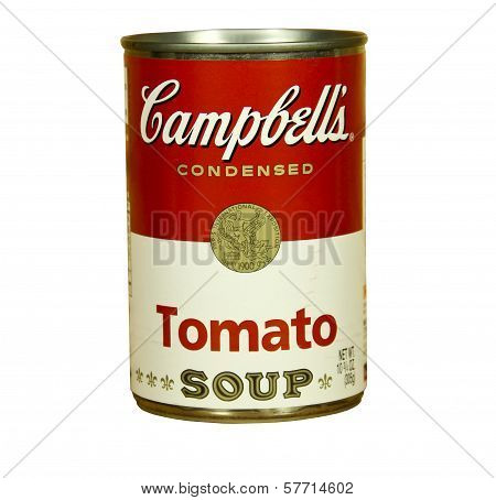 Can Of Campbell's Tomato Soup