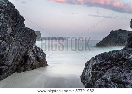 Dusk At Kynance Cove