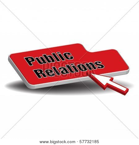 Public relations red button