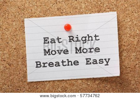 Eat Right, Move More