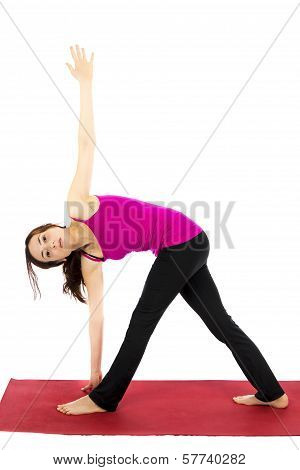 Revolved Triangle Pose In Yoga