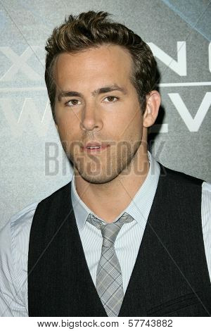 Ryan Reynolds  at the Industry Screening of 'X-Men Origins Wolverine'. Grauman's Chinese Theater, Hollywood, CA. 04-28-09