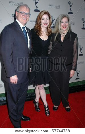 John Shaffner with Sherry Lansing and Lynn Roth at the Second Television Academy Honors Gala. Beverly Hills Hotel, Beverly Hills, CA. 04-30-09