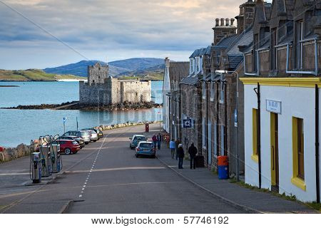 Main Street, Castlebay, Isle Of Barra, Outer Hebrides