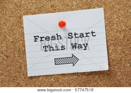 Fresh Start This Way