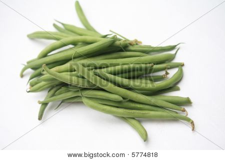 haricots verts - common green beans