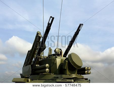 Weapons Of Anti-aircraft Defense Tunguska