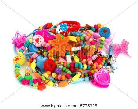 Childrens farbigen Schmuckstück