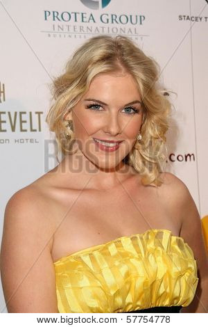Caroline Pemberton  at the Australians In Film 2009 Breakthrough Awards. Hollywood Roosevelt Hotel, Hollywood, CA. 05-08-09