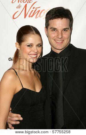 Anna Trebunskaya and Jonathan Roberts at the 2009 Noche De Ninos Gala. Beverly Hilton Hotel, Beverly Hills, CA. 05-09-09