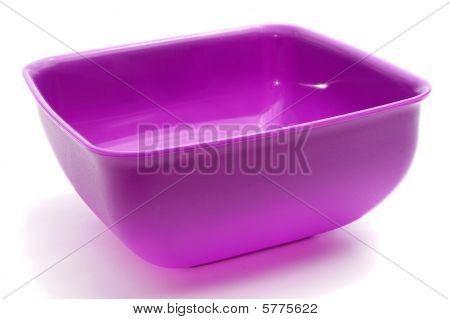 Square Purple Bowl