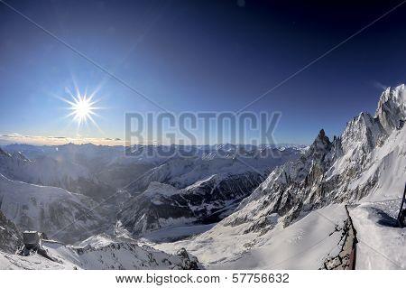 Mont Blanc View Landscape