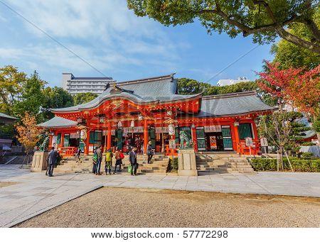 Ikuta-jinja in Kobe