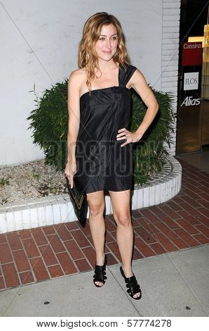 Sasha Alexander  at the Los Angeles Screening of 'Home'. Stella McCartney, West Hollywood, CA. 06-05-09