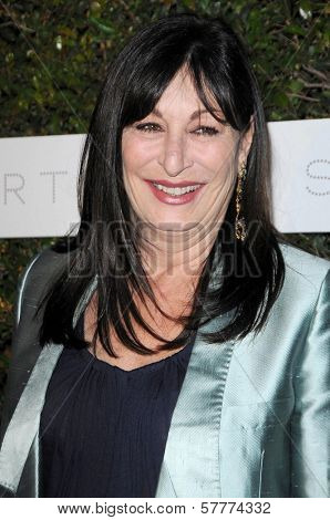 Anjelica Huston at the Los Angeles Screening of 'Home'. Stella McCartney, West Hollywood, CA. 06-05-09