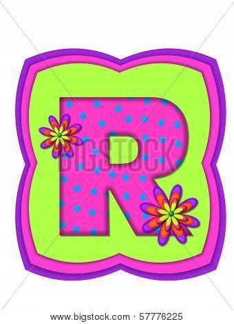 Alphabet Daisy Daze R