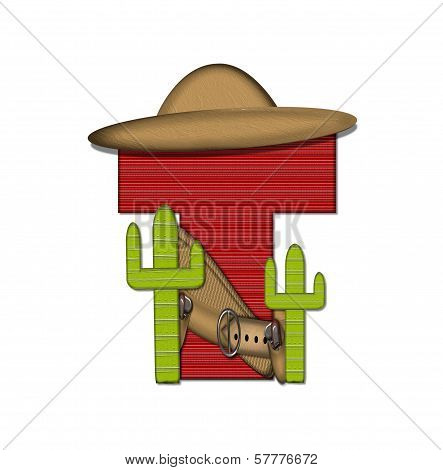 Alphabet Bandido T