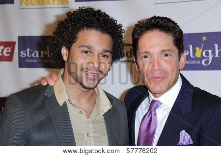 Corbin Bleu and Dave Koz at the Starlight Children's Foundation's 'A Stellar Night' Gala. Beverly Hilton Hotel, Beverly Hills, CA. 03-27-09