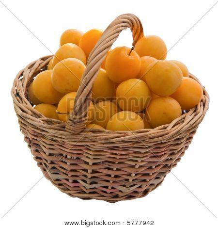 Cherry Plum In A Basket