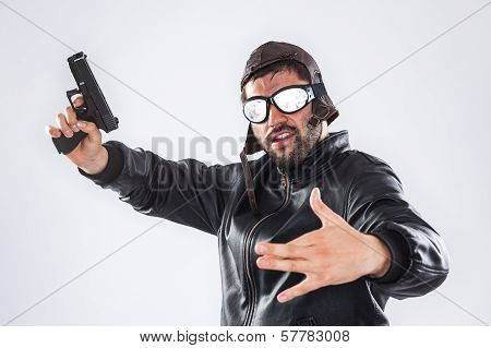 Rapper With Gun