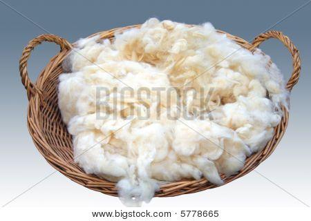Peter Denovo's  Wool Basket