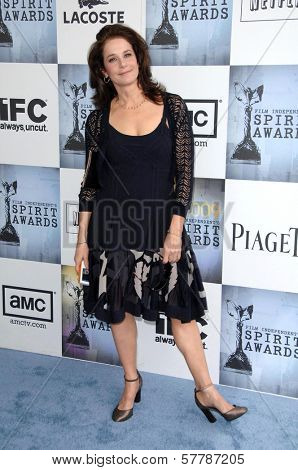Debra Winger  at the 2009 Film Independent's Spirit Awards. Santa Monica Pier, Santa Monica, CA. 02-21-09