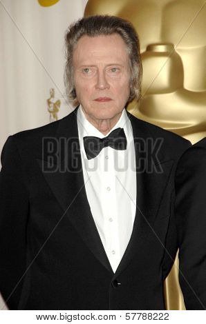 Christopher Walken in the Press Room at the 81st Annual Academy Awards. Kodak Theatre, Hollywood, CA. 02-22-09
