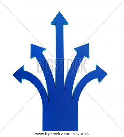 Arrows Pointing Up