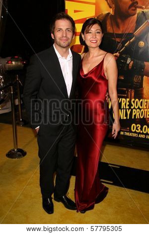 Zack Snyder and Deborah Snyder at the U.S. Premiere of 'Watchmen'. Grauman's Chinese Theatre, Hollywood, CA. 03-02-09