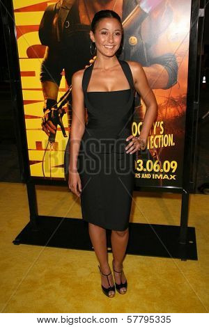 Emmanuelle Chriqui at the U.S. Premiere of 'Watchmen'. Grauman's Chinese Theatre, Hollywood, CA. 03-02-09