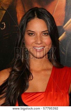 Olivia Munn at the U.S. Premiere of 'Watchmen'. Grauman's Chinese Theatre, Hollywood, CA. 03-02-09