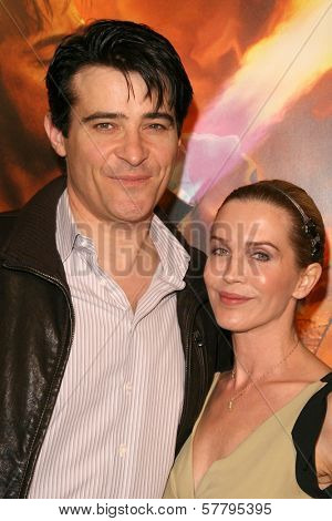 Goran Visnjic and wife Ivana at the U.S. Premiere of 'Watchmen'. Grauman's Chinese Theatre, Hollywood, CA. 03-02-09