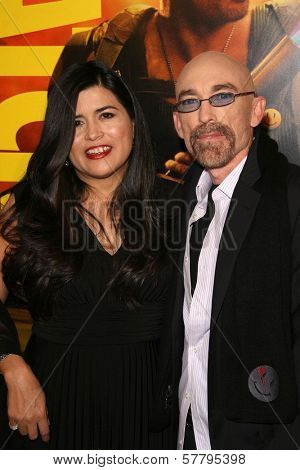 Jackie Earle Haley and wife Amelia at the U.S. Premiere of 'Watchmen'. Grauman's Chinese Theatre, Hollywood, CA. 03-02-09