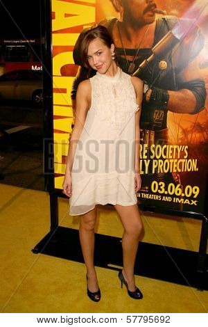 Arielle Kebbel at the U.S. Premiere of 'Watchmen'. Grauman's Chinese Theatre, Hollywood, CA. 03-02-09