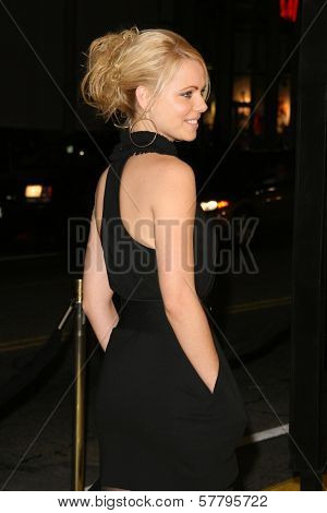 Collette Wolfe at the U.S. Premiere of 'Watchmen'. Grauman's Chinese Theatre, Hollywood, CA. 03-02-09