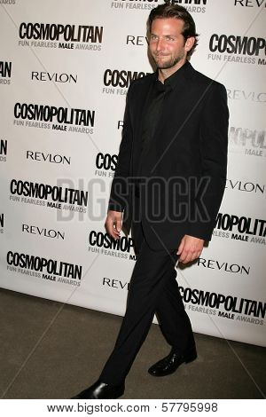 Bradley Cooper at Cosmopolitan's 2009 Fun Fearless Awards. SLS Hotel, Beverly Hills, CA. 03-02-09