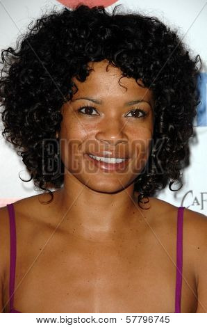 Rose Rollins  at the farewell party for final season of 'The L Word'. Cafe La Boheme, West Hollywood, CA. 03-03-09