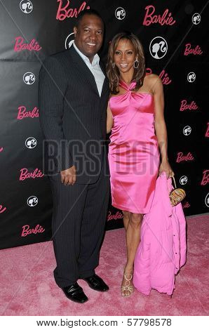 Rodney Peete and Holly Robinson Peete at Barbie's 50th Birthday Party. Barbie's Real-Life Malibu Dream House, Malibu, CA. 03-09-09