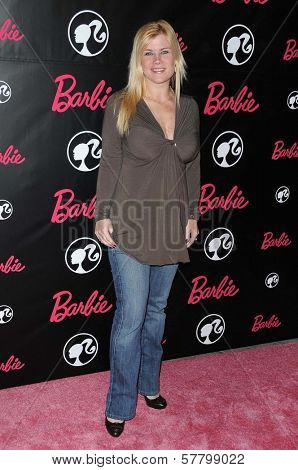 Alison Sweeney  at Barbie's 50th Birthday Party. Barbie's Real-Life Malibu Dream House, Malibu, CA. 03-09-09