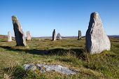 pic of megaliths  - Callanish Stones - JPG
