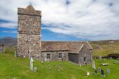 Ancient Church Of Rodel, Isle Of Harris